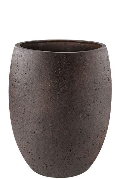 Luca lifestyle hoge bruine roest pot