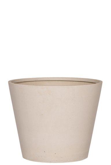 Mooie beige pot betonlook