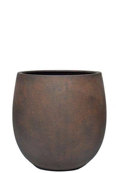 Mooie grote bruine pot