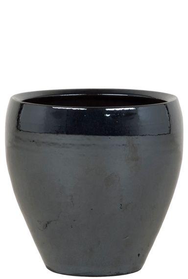 Mooie pot metal blauw