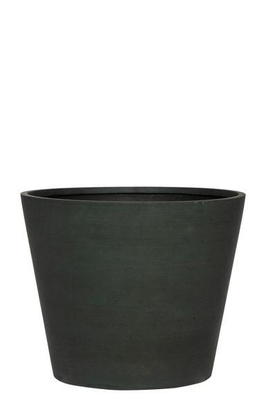 Mooie refined donker groen pot