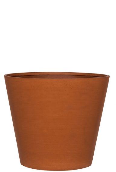 Mooie terracotta bloempot