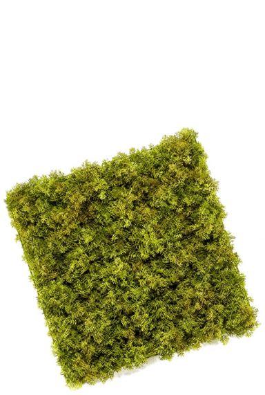 Mos mat groen kunstplant