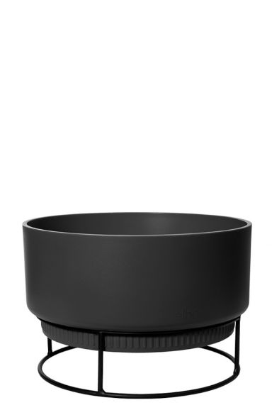 Plantenschaal zwarte pot