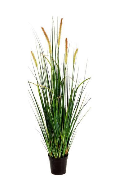 Pluimen kunstplant gras