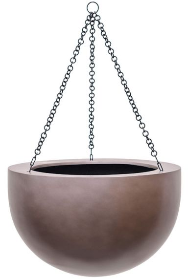 Pot hangplant brons