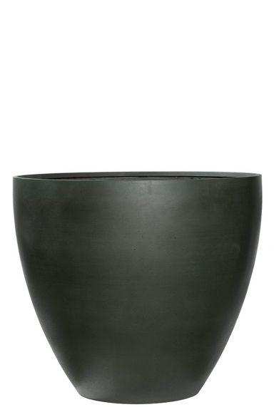 Refined donker groene pot