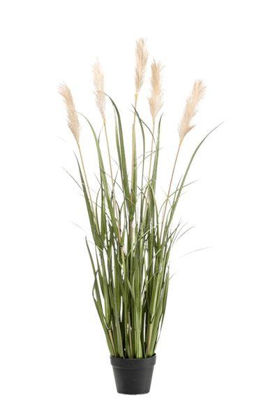 Siergras pluimen kunstplant