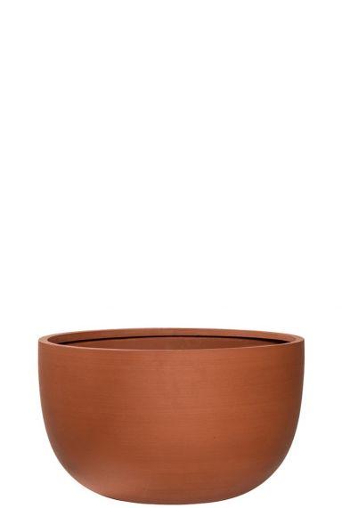 Terracotta bloempot refined schaal