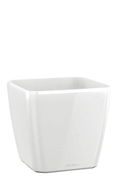 Vierkante plantenbak wit