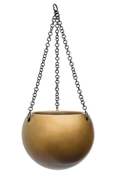 Waterdichte hangpot goud