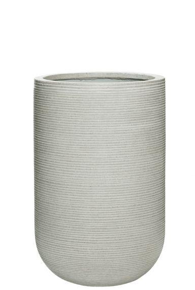 Witte bloempot vaas