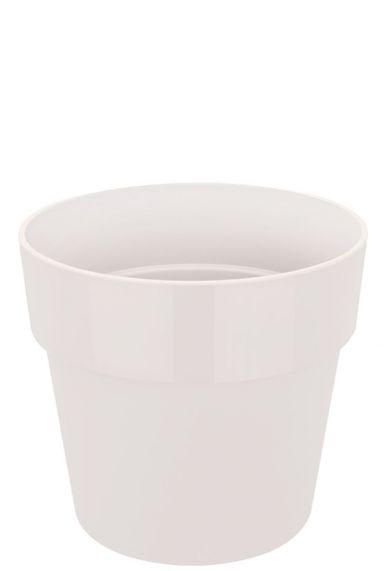 Witte elho plastic pot