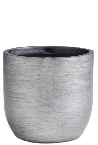 Zilver capi retro pot
