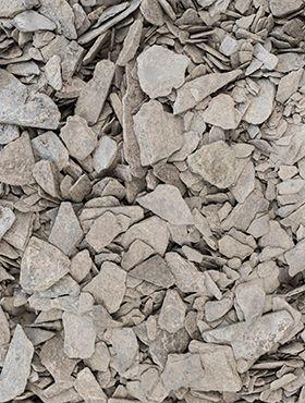 Ardoise pilee (antraciet) 10 - 40 mm (20 kg)