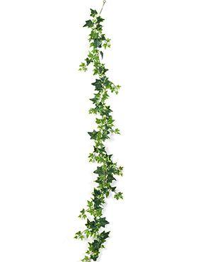 Variegated ivy garland