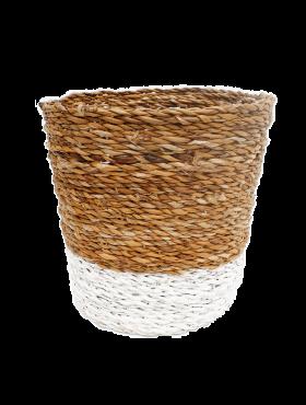 Bloempot Binnen Wit.Plantenbakken Kopen 123planten Nl