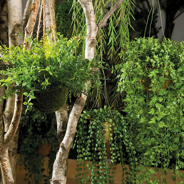 Hang kunstplanten